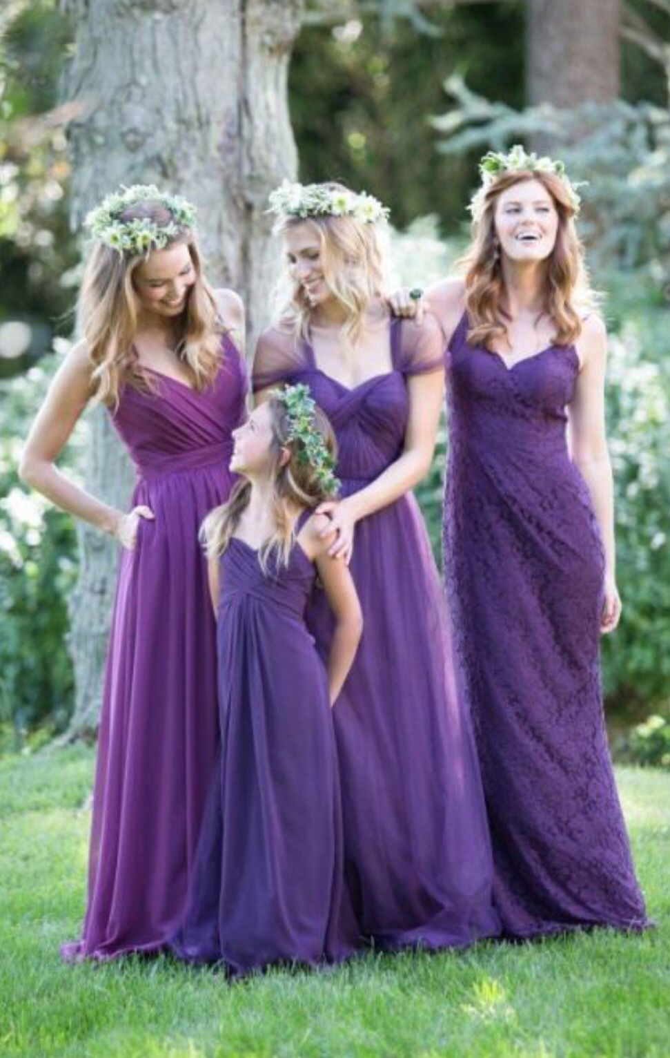 Purple Wedding Color Ideas: Beautiful Bridesmaid Dresses and ...