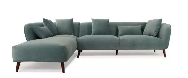 Brinley Turquoise Velvet Corner Sofa 2 5l 1 5r Velvet Corner Sofa Corner Sofa Gorgeous Sofas