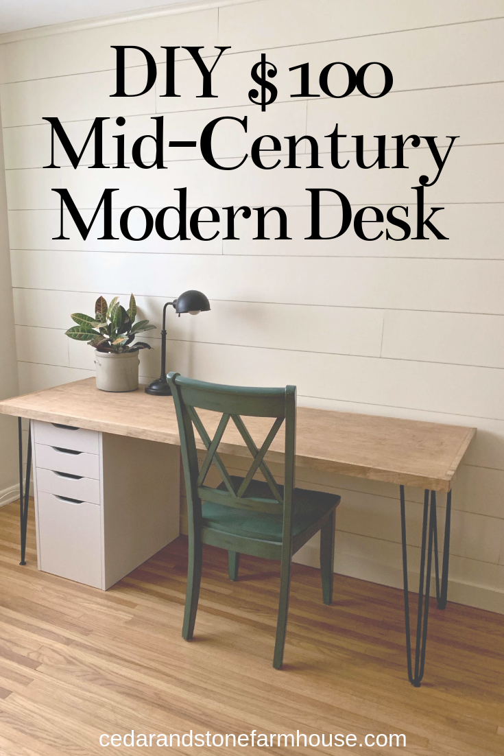 Diy 100 Mid Century Modern Desk Mid Century Modern Desk Midcentury Modern Dining Table Mid Century Modern Office Desk