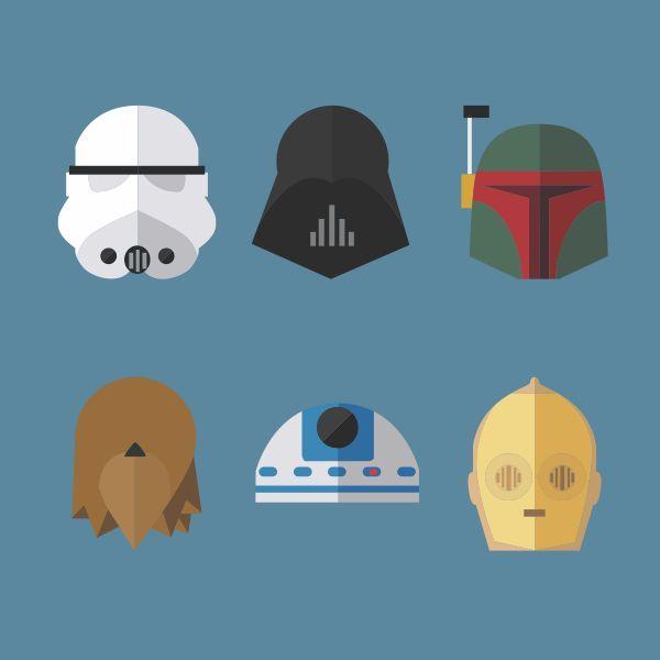Desenho Personagens Star Wars - Pesquisa Google