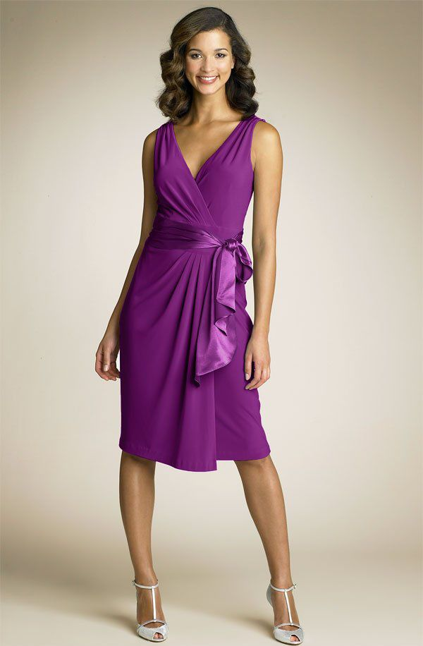 3 Smart Tips To Choose Dress For Wedding Guest: Trendy Purple Dress For Wedding  Guest