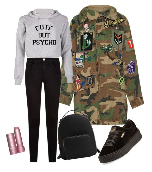 """""""Untitled #1558"""" by fatima-ikanovic ❤ liked on Polyvore featuring Marc Jacobs, MANGO and Puma"""