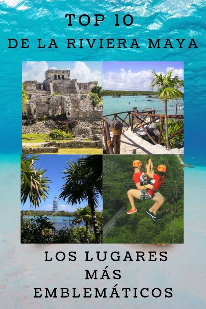 Los 10 Lugares Más Visitados De La Riviera Maya En México Riviera Maya Destinos Viajes Destinos De Playa