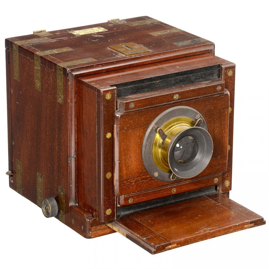 Tropical Wet Plate Sliding Box Camera By G Hare Photographic