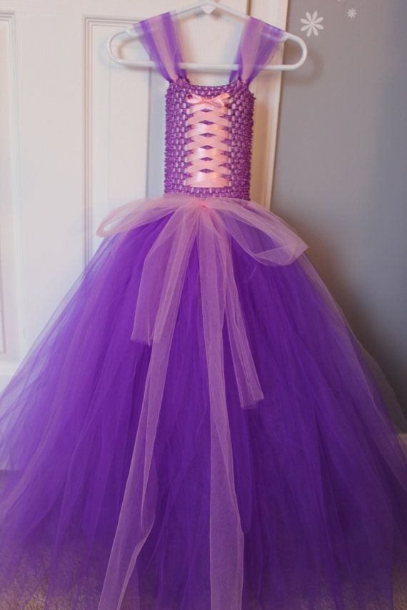 Rapunzel Inspired Tutu Costume by CutieTututies on Etsy, $23.00 ...