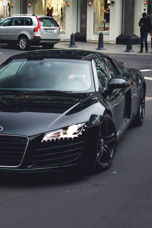 black audi r8 my dream car automotive pinterest audi r8 audi and dream cars. Black Bedroom Furniture Sets. Home Design Ideas