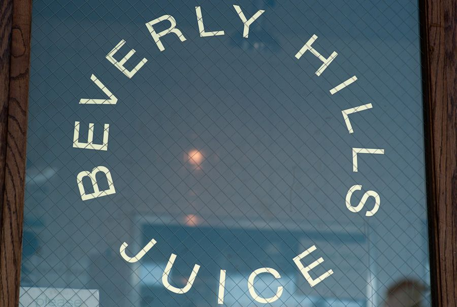 Beverly hills juice raw since 1975