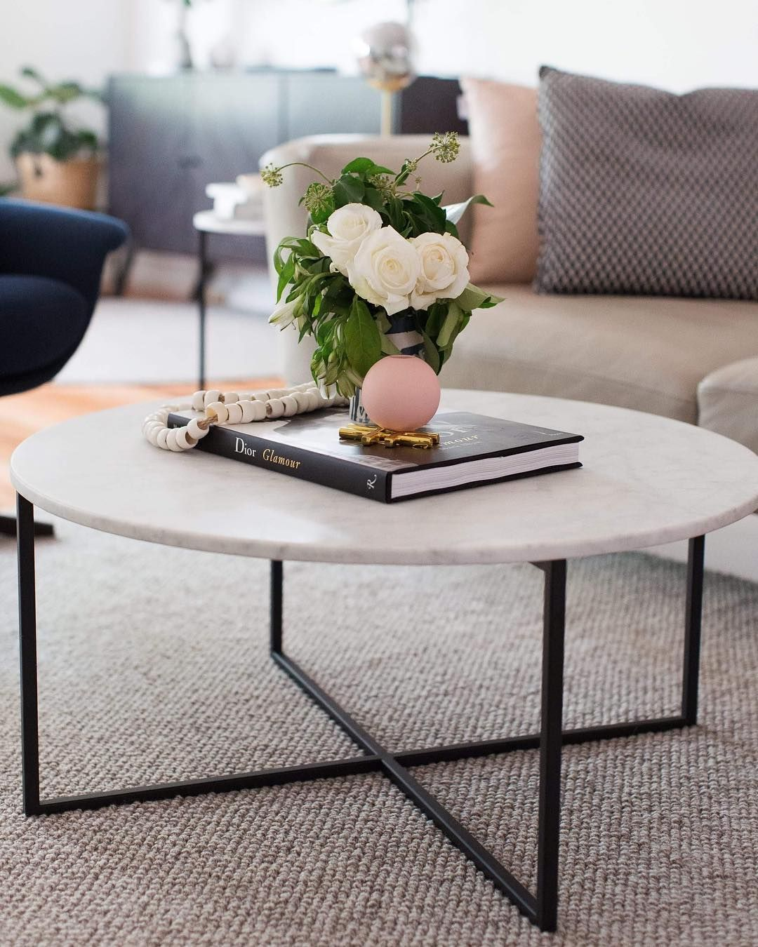 Globewest On Instagram Blooms And Blush For A Feminine Touch With Our Elle Luxe Coffee Table Styling By Studioblack Coffee Table Home Coffee Tables Decor [ 1350 x 1080 Pixel ]