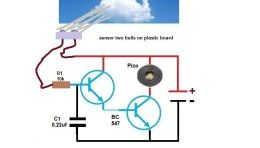Rain Alarm Circuit using Transistors | Ingenieria ...