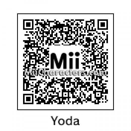 Star Wars Yoda Mii Qr Codes Pokémon Wii U și All Video Games