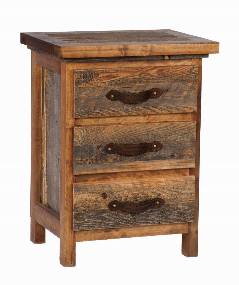 Wyoming Collection  Three- Drawer Nightstand