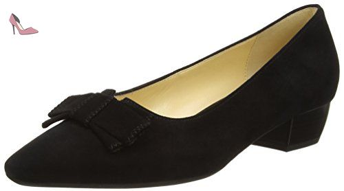 Gabor Shoes Gabor Fashion, Escarpins Femme, Noir (Schwarz), 41 EU