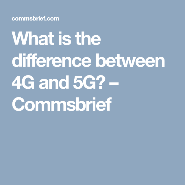 Pin By Moses Hara On The Difference Between 1g 2g 3g Etc Technology Cellular Digital