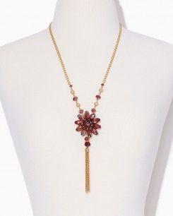 Electric Flower Necklace Set