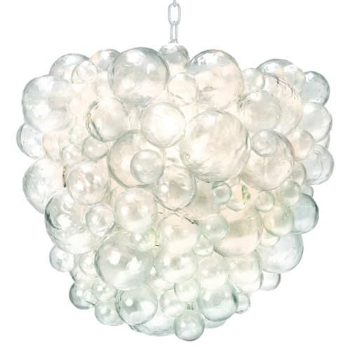 Oly Studio Nimbus Modern Classic Clear Resin Bubble Chandelier