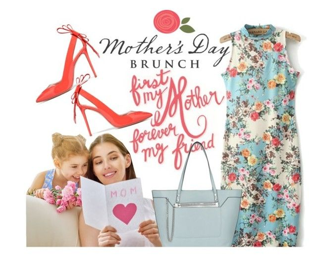 """Mother's Day Brunch"" by mia-christine ❤ liked on Polyvore featuring Nicholas Kirkwood, New Look and brunchgoals"