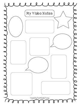 Video Notes Video Notes Graphic Organizers After School Program