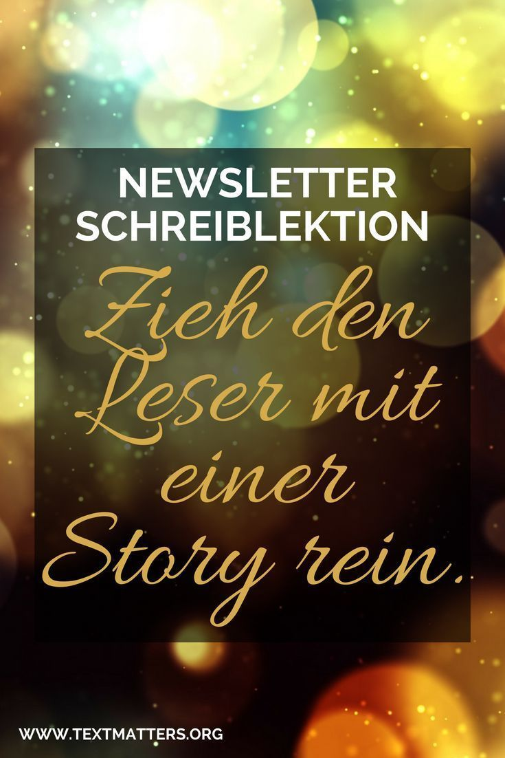 Wie dein Newsletter mit Storytelling hypnotisiert (das
