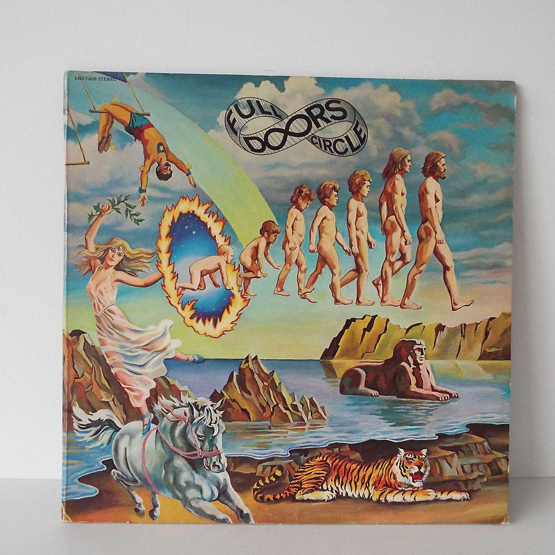 Vintage 1972 The Doors Full Circle Vinyl Record Lp Us Pressing Pysch By Vintageblackcatz On Etsy Full Circle Circle Vinyl