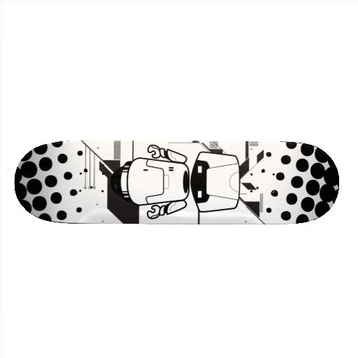 Robot Skate Board