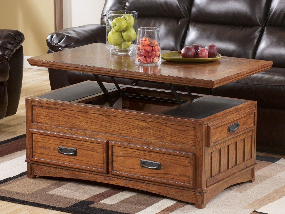 Lift Top Coffee Table With Deep Storage Httptherapybychancecom - Lift top coffee table with storage drawers