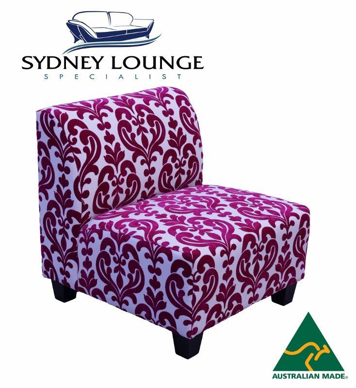 armless lounge chair australia