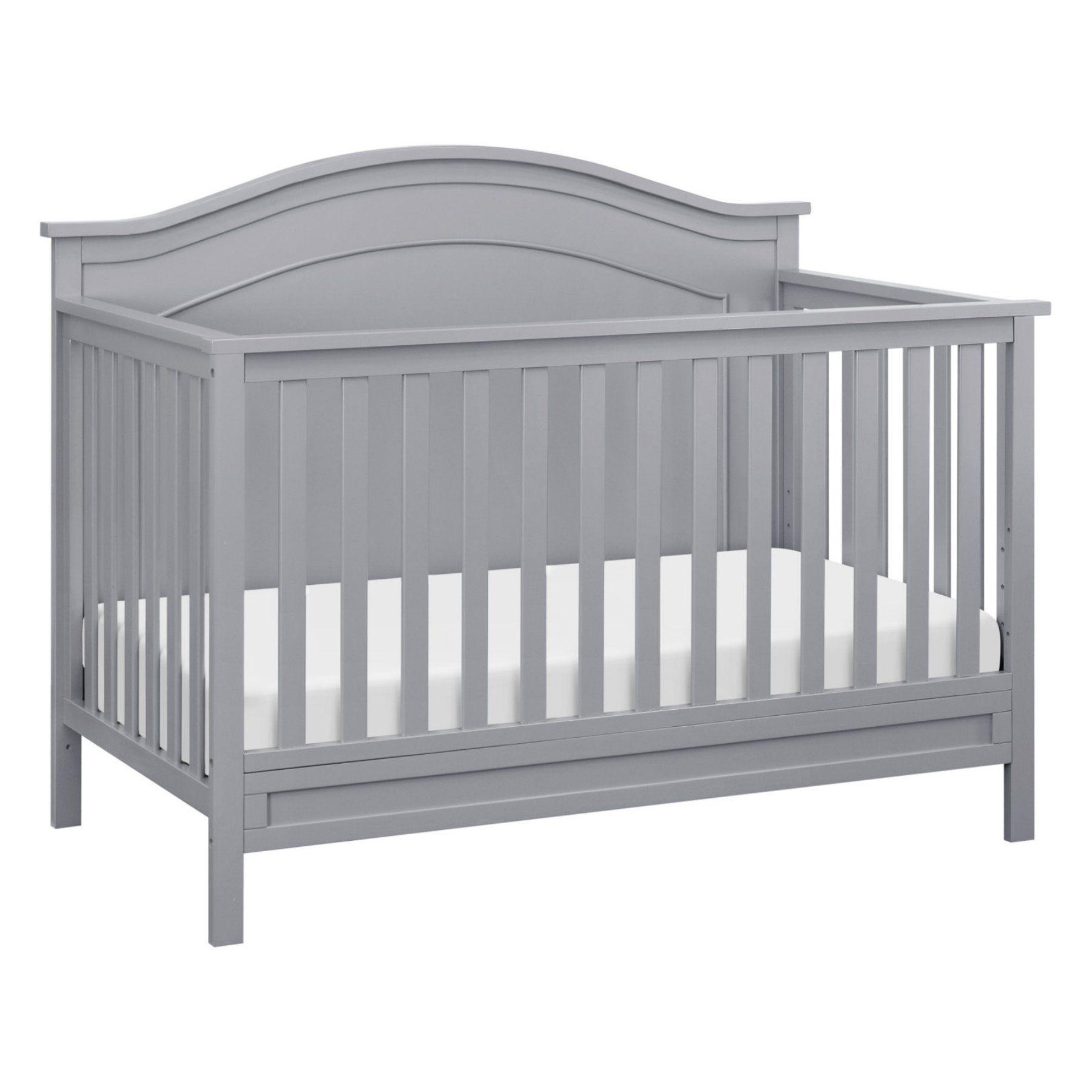 Davinci Classic Charlie 4 In 1 Convertible Crib Convertible Crib Convertible Crib Grey Cribs