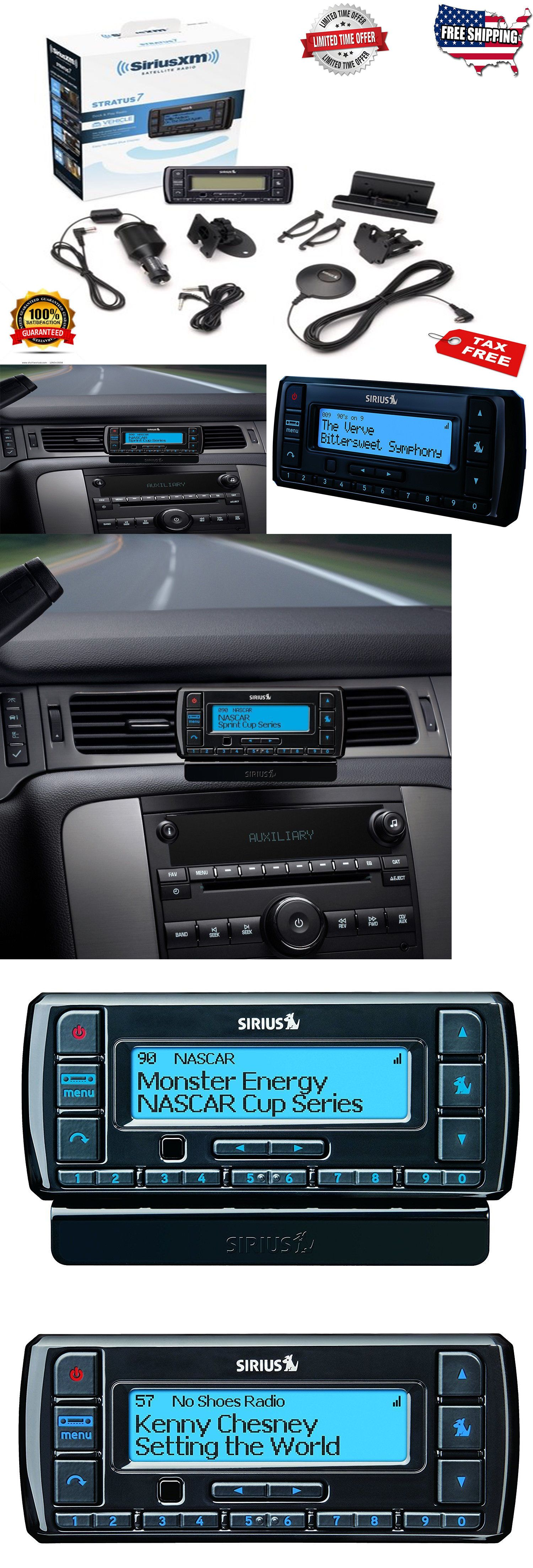 Other Car Audio 175717 Sirius Xm Satellite Radio Stratus 7 With Clarion 16 Pin Stereo Wiring Wire Harness Ebay Vehicle Kit For