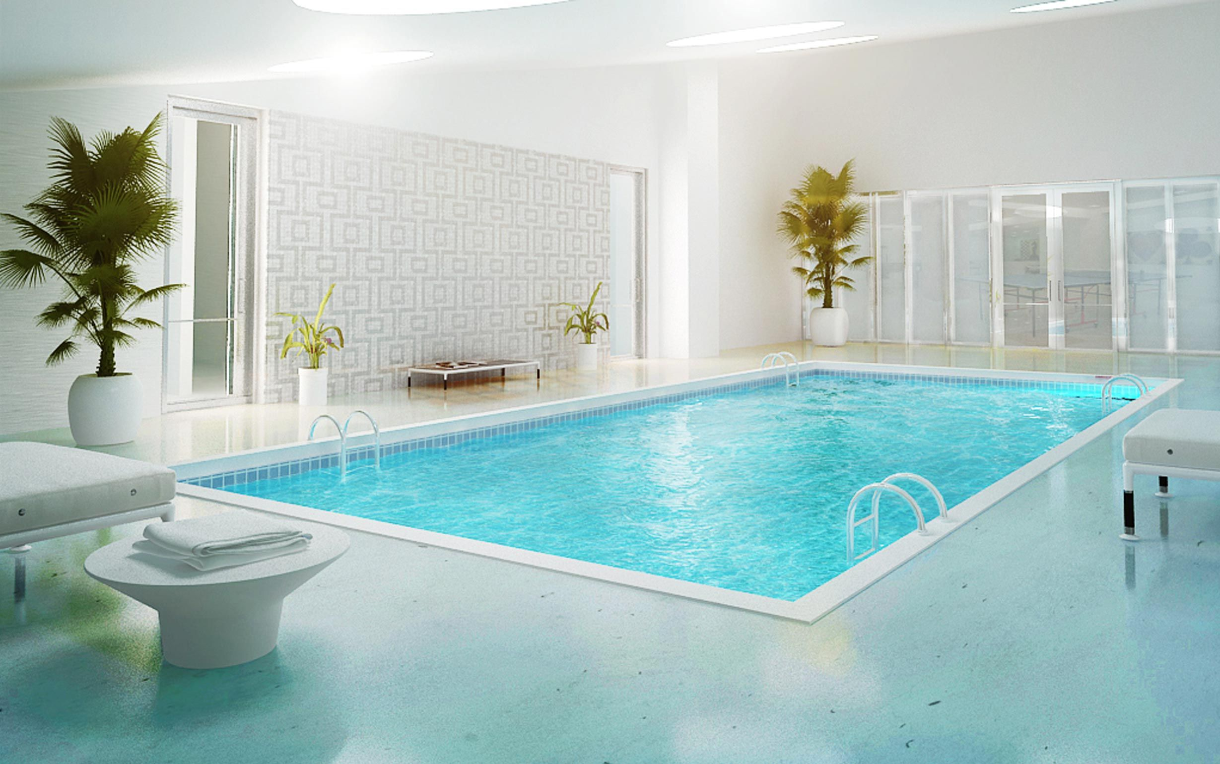 Godrej Platinum Bengaluru Indoor Heated Pool Client Godrej Properties Ltd Luxury Swimming Pools Swimming Pool Architecture Indoor Pool Design