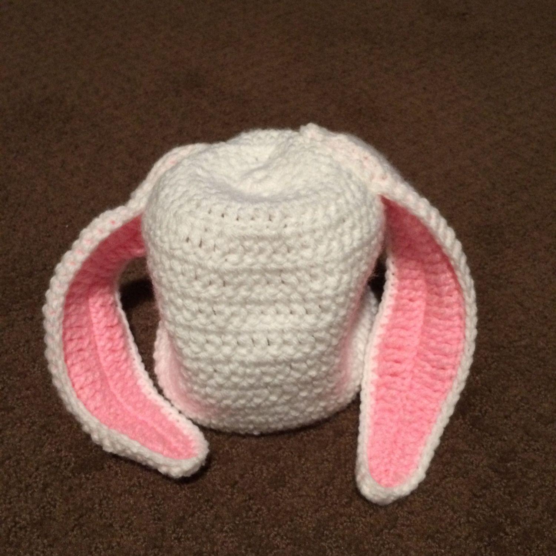 Floppy Ear Bunny Hat by RoHutCrochet on Etsy