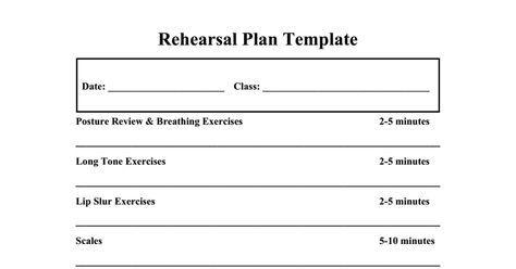 school lesson plan template