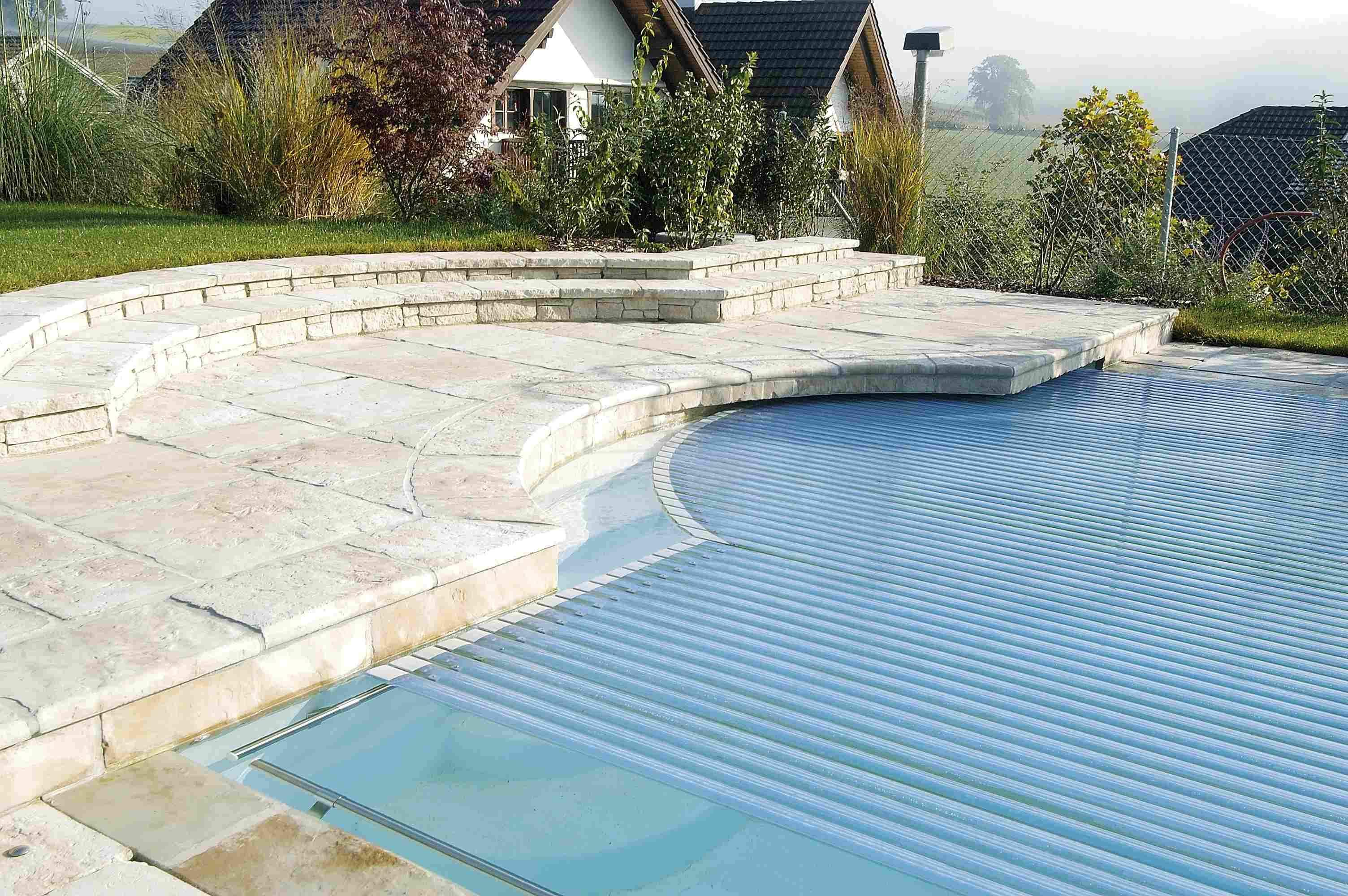 Automatic Pool Cover In Ground Automatic Rigid Slated