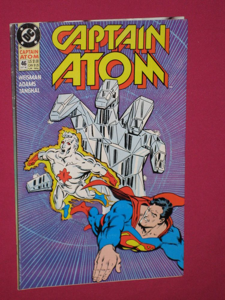 Captain Atom #46, DC Comics 1990 Book - Superman   eBay