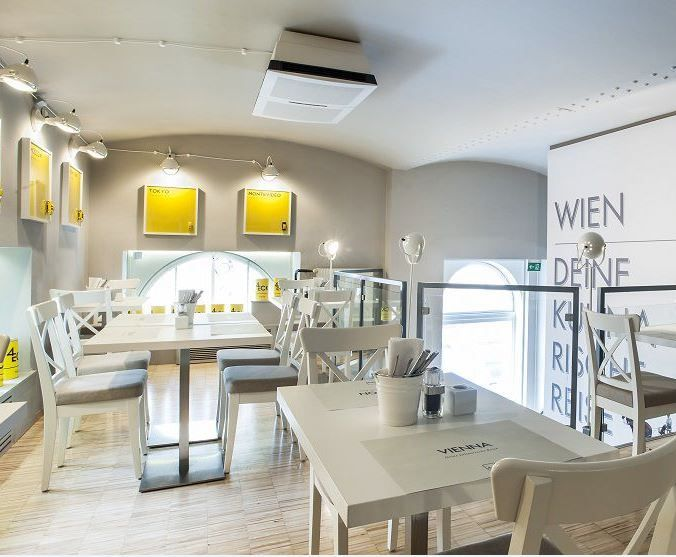 Das Restaurant Viereck Im 1 Bezirk In Wien Bietet Seinen Gasten Eine Hochwertige Internationale Kuche Und Wu Restaurant Bar Restaurant Internationale Kuche