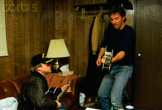 Bruce with Steven Stills