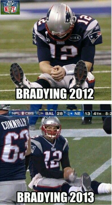 Tom Cry Baby Brady Nfl Funny Sports Humor Sports Memes