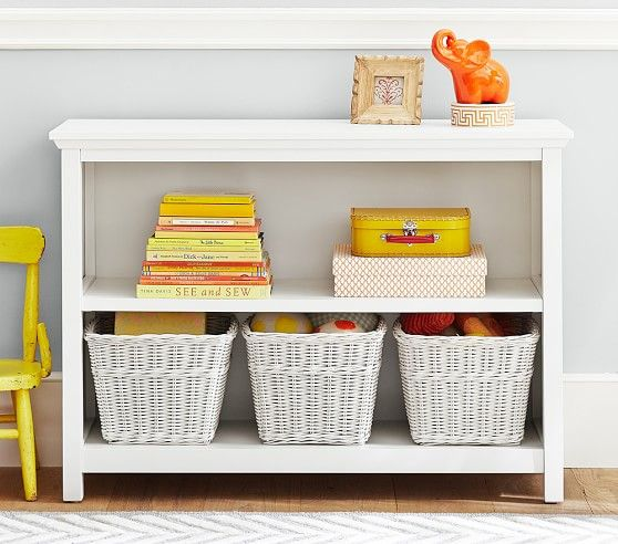 Cameron 2 Shelf Bookcase | Pottery Barn Kids 42Wx30Hx14D