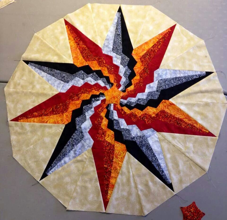 Beautiful Sample. Find the Stargello pattern on our website https://www.phillipsfiberart.com/shop/product/stargello/