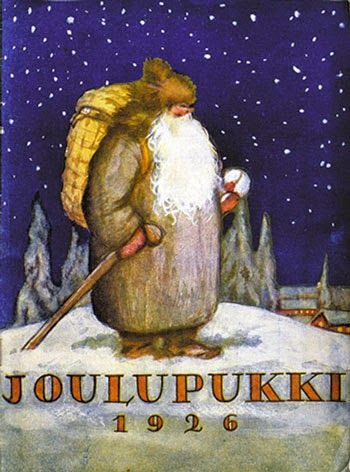 Finland Christmas Goat.Joulpukki The Yule Goat Of Finland The Other Side Of