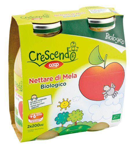 Nettare di mela biologico 2X200ML