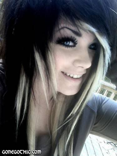 Dark Brown Hair With Blonde Underneath Black Hair With Blonde