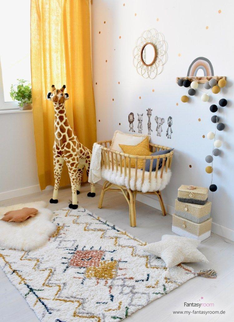 Babyzimmer mit Rattan, Bambus & Holzdeko einrichten?