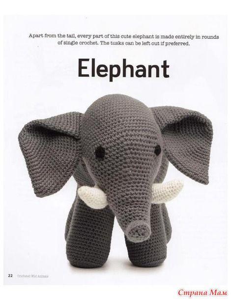 Mooncie Vanessa.  Crocheted Wild Animals  № 1 - 2013.