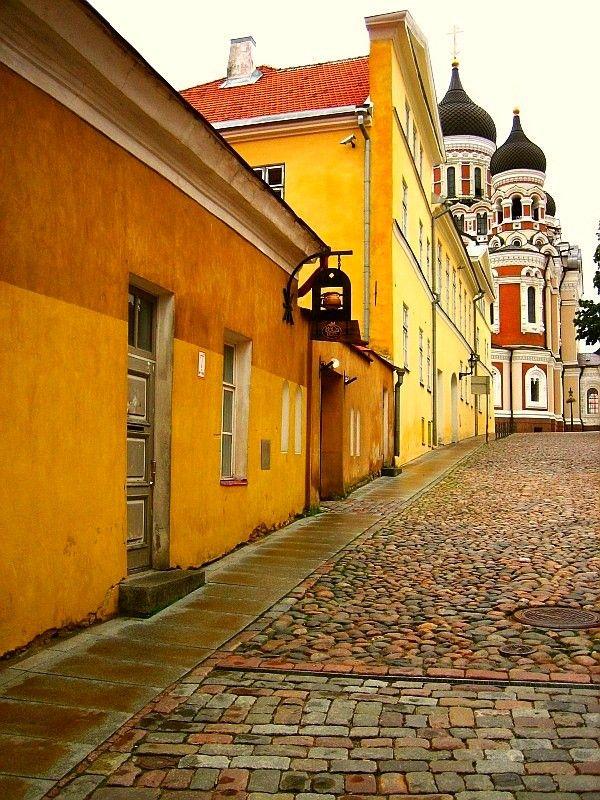 Alexander Nevsky Cathedral, Tallinn | Estonia (by George Rumpler)