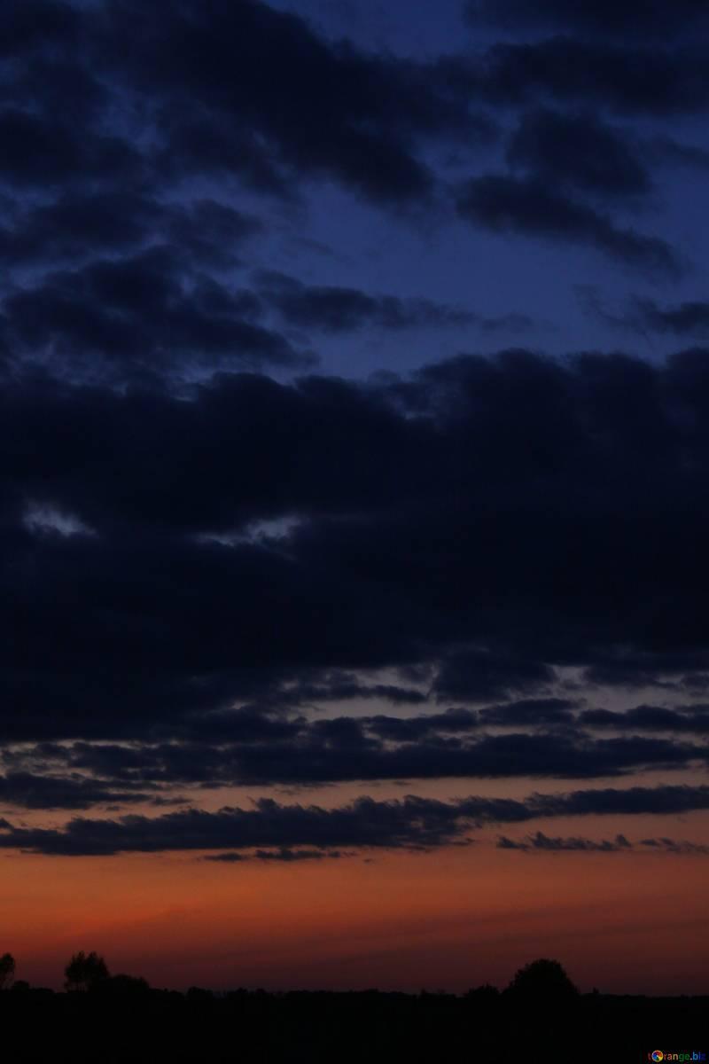 Evening Sky A Dark Night Sky Sunset 2403 Night Sky Wallpaper Night Sky Photos Sky Aesthetic