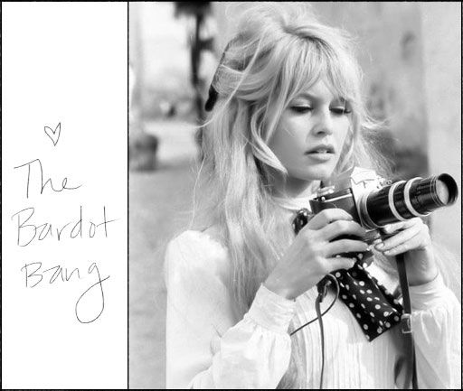 The Bardot Bang... our all time favorite.