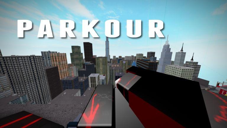 1 Parkour Roblox Parkour Roblox Level Up
