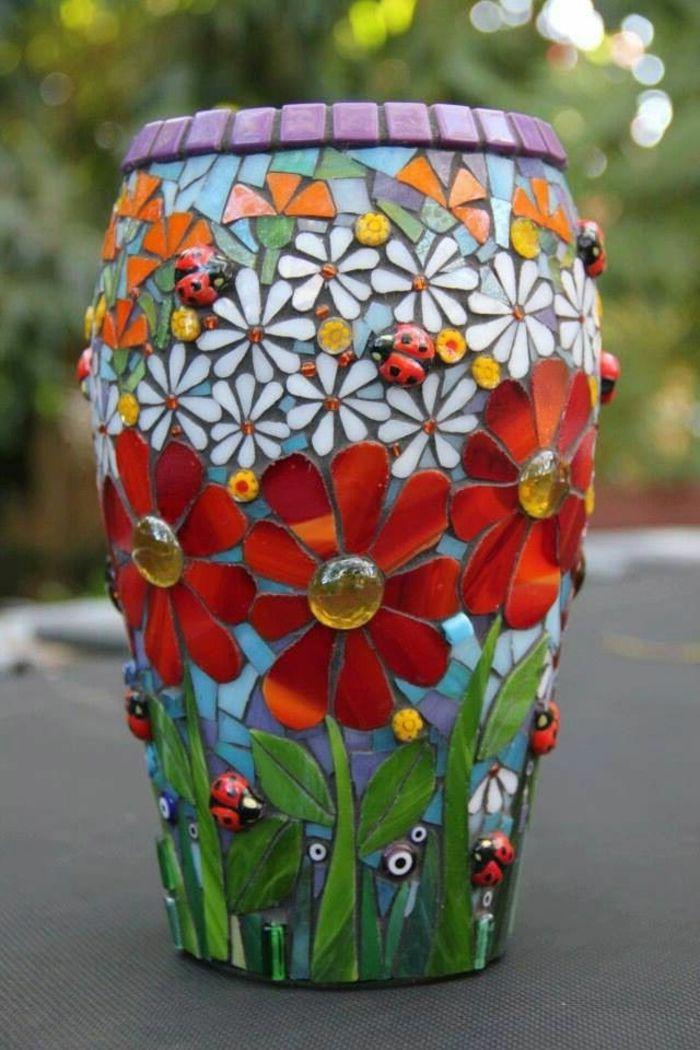 ▷ 1001+ Ideen für Blumentöpfe dekorieren mit Stil und Lust | weiße ...