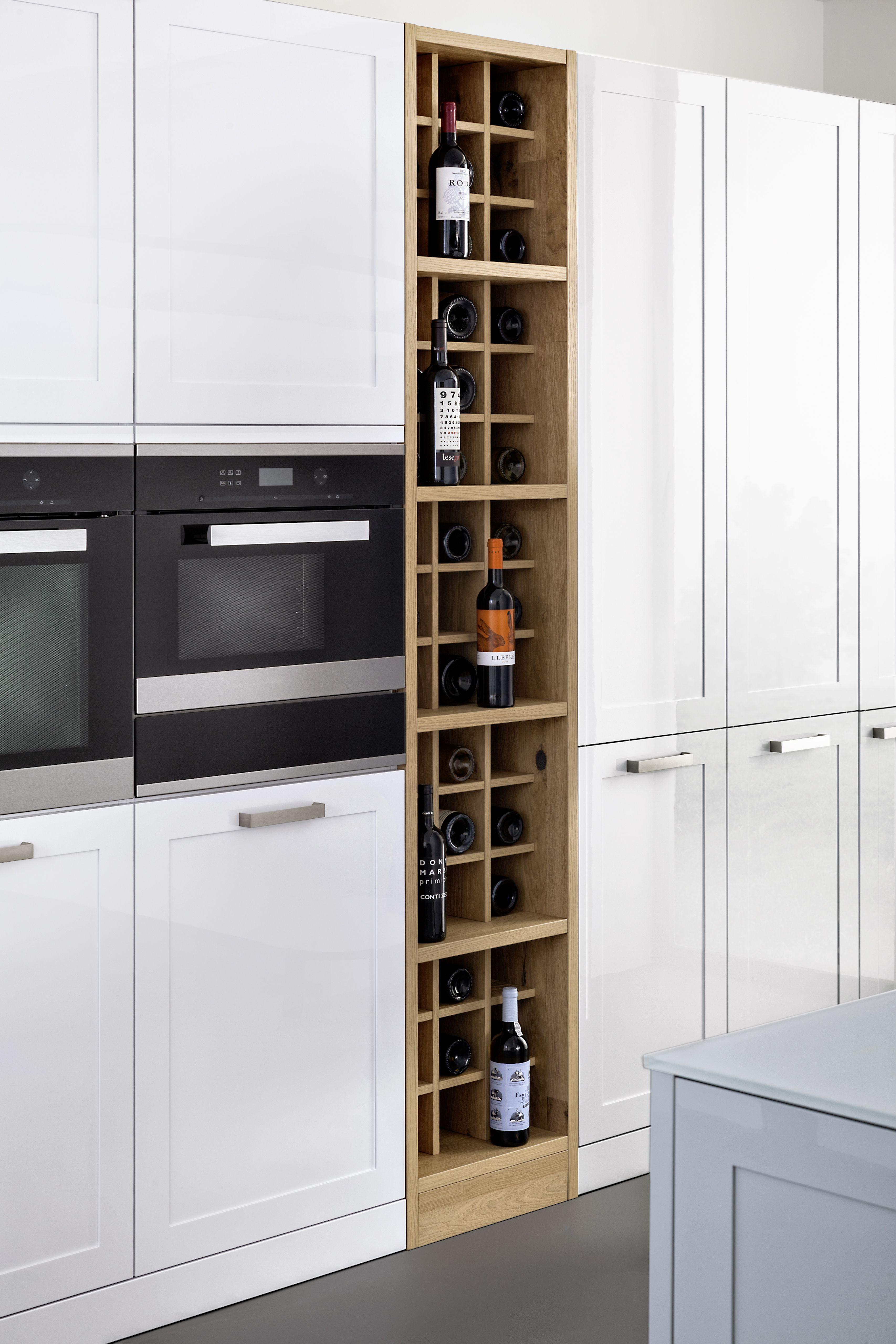 Weiße Küche, Küchenschrank In Weiß, Weiße Fronten, Küchenfronten, Bild, Idee ,