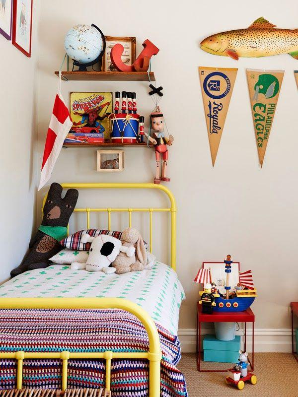 eclectic kids' rooms